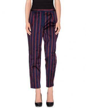 Повседневные брюки MULLER of YOSHIO KUBO. Цвет: темно-синий