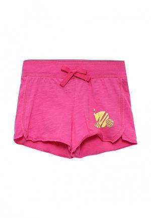 Шорты спортивные United Colors of Benetton. Цвет: розовый