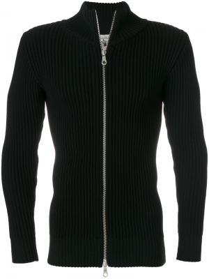 Приталенный свитер на молнии S.N.S. Herning. Цвет: чёрный