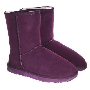 Угги женские  Bliss Short Purple Martian BooRoo. Цвет: фиолетовый
