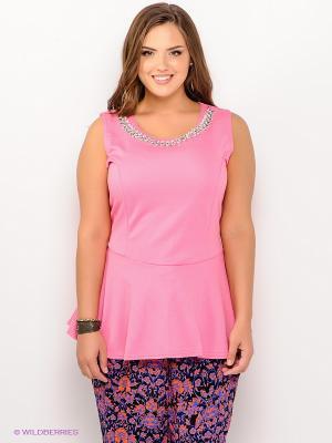 Туника New Look. Цвет: розовый