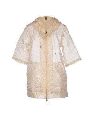 Легкое пальто JIJIL. Цвет: бежевый