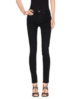 Джинсовые брюки SIMON MILLER. Цвет: черный