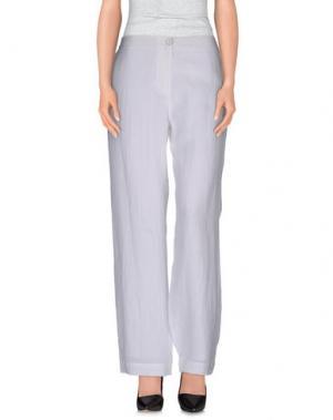 Повседневные брюки CREA CONCEPT. Цвет: белый