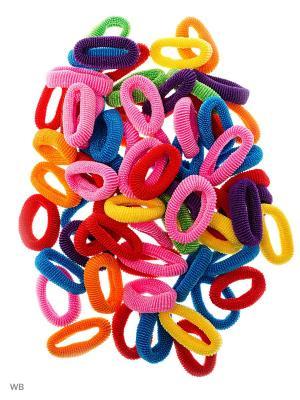 Резинка(40шт) Bizon. Цвет: малиновый, розовый, синий