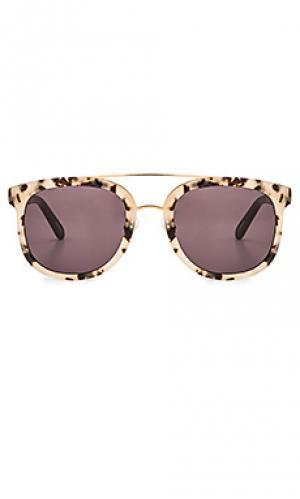 Солнцезащитные очки cl-10 KREWE du optic. Цвет: беж