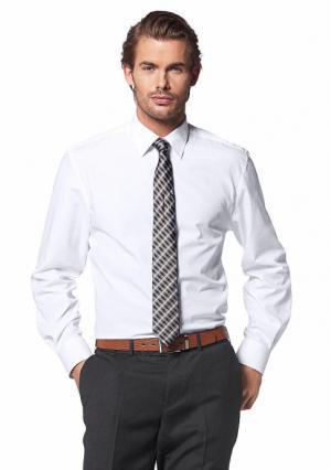 Рубашка Class International. Цвет: белый, бордовый, серый