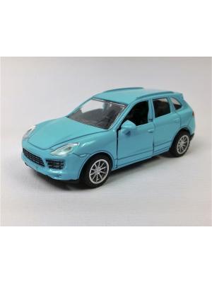 Машинка инерционная Азбука Тойс. Цвет: голубой