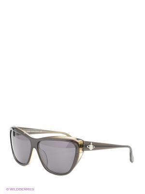 Солнцезащитные очки VW 817 01 Vivienne Westwood. Цвет: коричневый