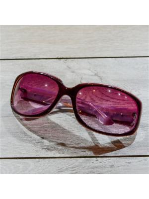 Очки MACAR. Цвет: коричневый, розовый