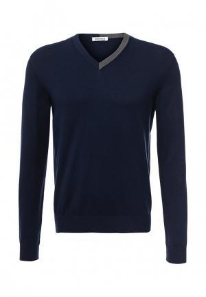 Пуловер Bikkembergs. Цвет: синий