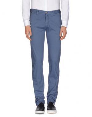 Повседневные брюки BETWOIN. Цвет: грифельно-синий