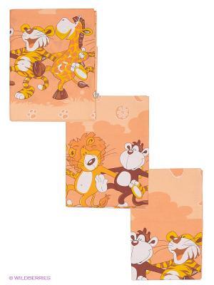 Комплект Африка Сонный гномик. Цвет: оранжевый, бежевый, белый, желтый, коричневый