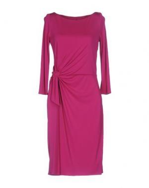 Платье до колена ISSA. Цвет: фуксия