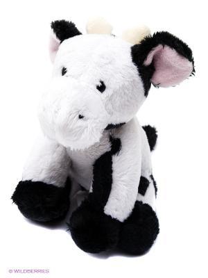 Игрушка мягкая Farm, Коровка со звуком Gund. Цвет: черный, белый