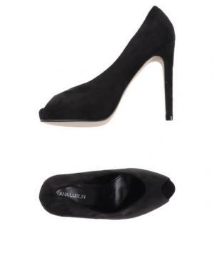 Туфли ANA LUBLIN. Цвет: черный