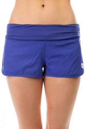 Шорты пляжные женские  Endless Summer Royal Blue Roxy. Цвет: синий