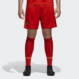 Домашние игровые шорты сборной Бельгии  Performance adidas. Цвет: красный