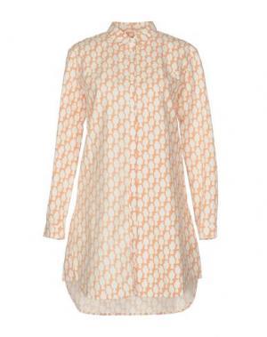 Короткое платье LE MONT ST MICHEL. Цвет: лососево-розовый