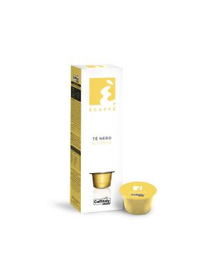 Чай в капсулах Tea al Limone ECAFFE CAFFITALY. Цвет: желтый