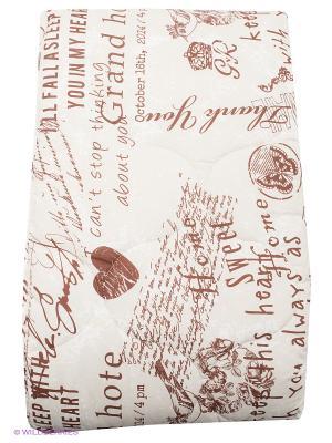 Одеяло Verossa. Цвет: молочный, коричневый, кремовый
