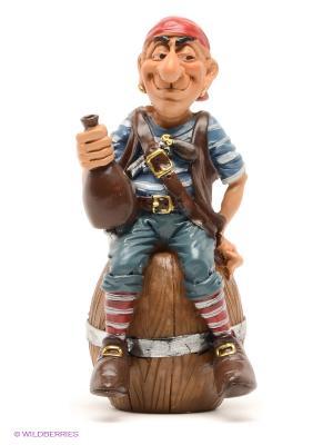 Фигурка Пират Взрывной Бен The Comical World of Stratford. Цвет: коричневый, красный, синий