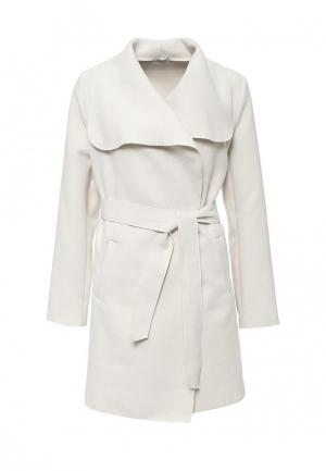 Пальто Aurora Firenze. Цвет: белый