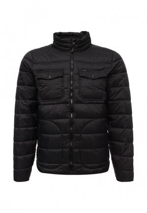 Куртка утепленная Lee. Цвет: черный