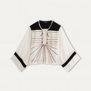 Блузка MEL ANTIK BATIK. Цвет: экрю