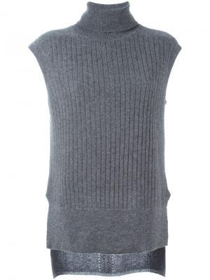 Свитер без рукавов Imogen Loma. Цвет: серый