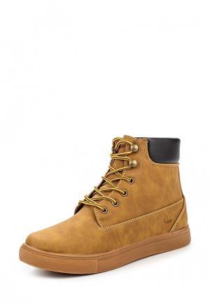 Ботинки PTPT. Цвет: коричневый