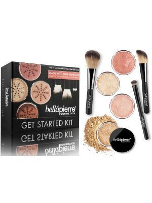 Bellapierre cosmetics FS002 Стартовый набор для макияжа Medium. Цвет: черный