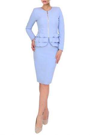 Пиджак JUNONA. Цвет: light blue