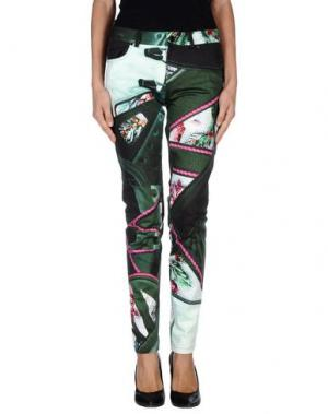 Повседневные брюки MARY KATRANTZOU. Цвет: зеленый