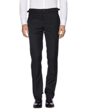 Повседневные брюки FAÇONNABLE. Цвет: черный