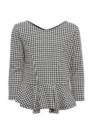 Блуза Guess. Цвет: черно-белый
