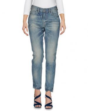 Джинсовые брюки OAKS. Цвет: синий