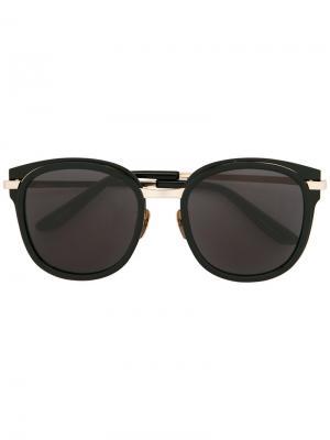 Солнцезащитные очки Erika Maska. Цвет: чёрный