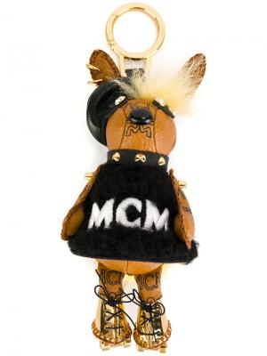 3D charm keyring MCM. Цвет: коричневый