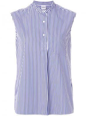 Striped sleeveless shirt Aspesi. Цвет: синий