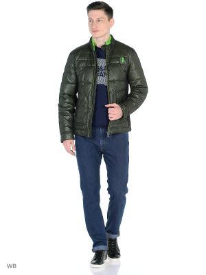 Куртка Trussardi. Цвет: зеленый
