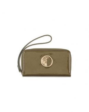 Бумажник VERSACE COLLECTION. Цвет: зеленый-милитари