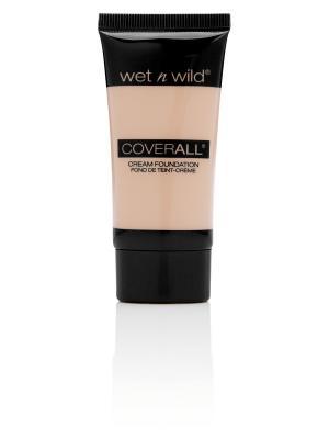 Тональный Крем Для Лица Coverall Cream Foundation E815 fair Wet n Wild. Цвет: молочный