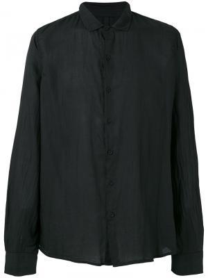Рубашка с воротником Poème Bohémien. Цвет: чёрный