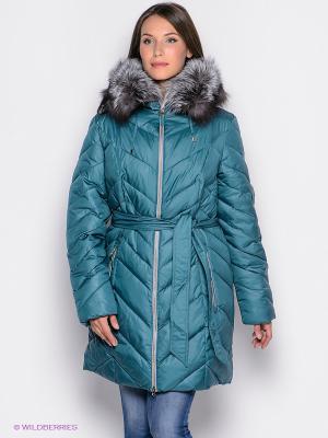 Пальто Malinardi. Цвет: зеленый