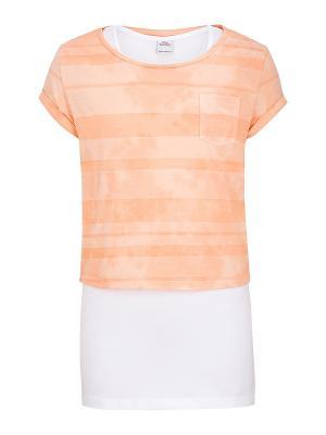 Комплект одежды S.OLIVER. Цвет: персиковый