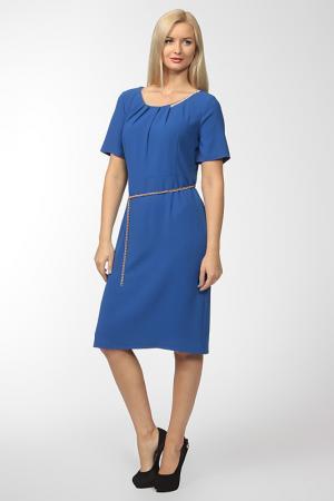 Платье с цепочкой BIRATTI. Цвет: синий