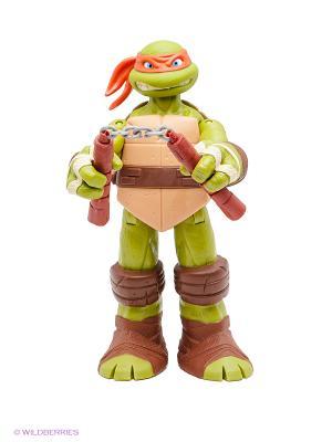 Фигурка Черепашка-ниндзя Микеланджело Playmates toys. Цвет: зеленый