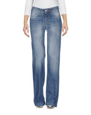 Джинсовые брюки CHILI PEPPERS. Цвет: синий