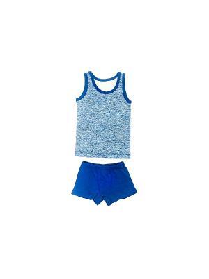 Комплекты одежды РОССИЙСКИЙ ТРИКОТАЖ. Цвет: синий